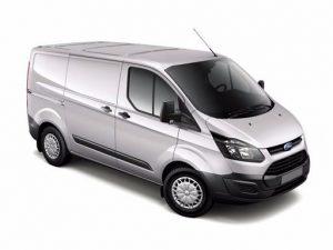 short wheel base van hire - ford transit custom 2015
